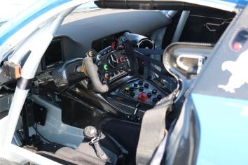 Cockpit des Mercedes von L. Ludwig