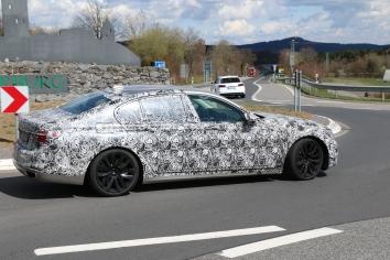 BMW Neuer Fünfer 550 i