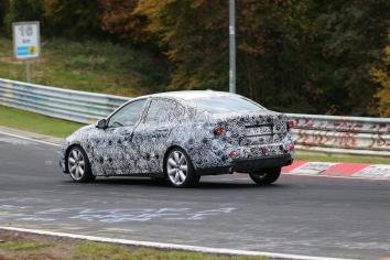 BMW 1er Limousine Erlkönig