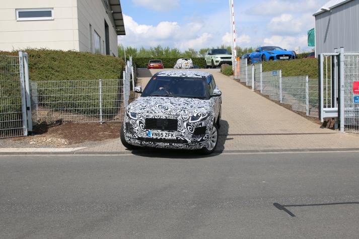 Jaguar Muletto kleiner SUV