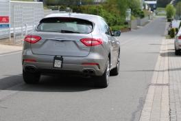 Maserati Levante ungetarnt