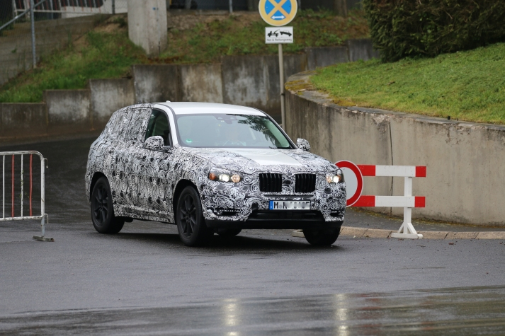 BMW X 3 kommt 2017