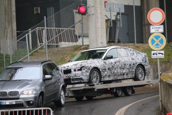BMW 5er GT Ende einer Dienstfahrt