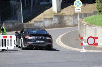 Porsche Panamera Testträger