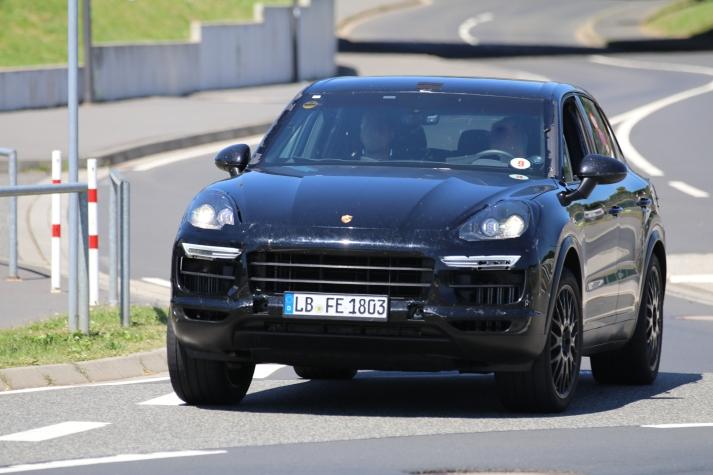 Porsche Cayenne Erlkönig ..... kommt nächstes Jahr