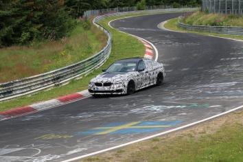 BMW 5er mit V8 Motor