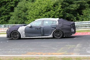 Kia GT Präsentation im 4.Quartal 2016/ Frühjahr 2017 mit Leistung von ca 275 PS bis ca 470PS ( mit 3,3 l V6 Biturbomotor )