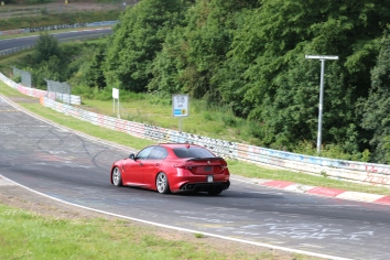 Alfa Romeo Giulia QV 510 PS 600Nm 0-100 in 3,9 sec 307 vmax