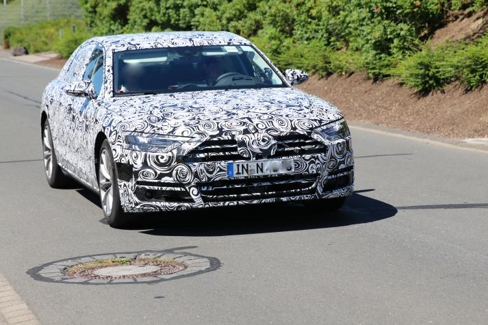 Audi neuer A8 Erlkönig