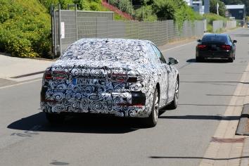 Audi neuer A 8 Erlkönig
