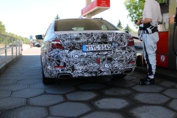 BMW 5er Lim Benziner Erlkönig