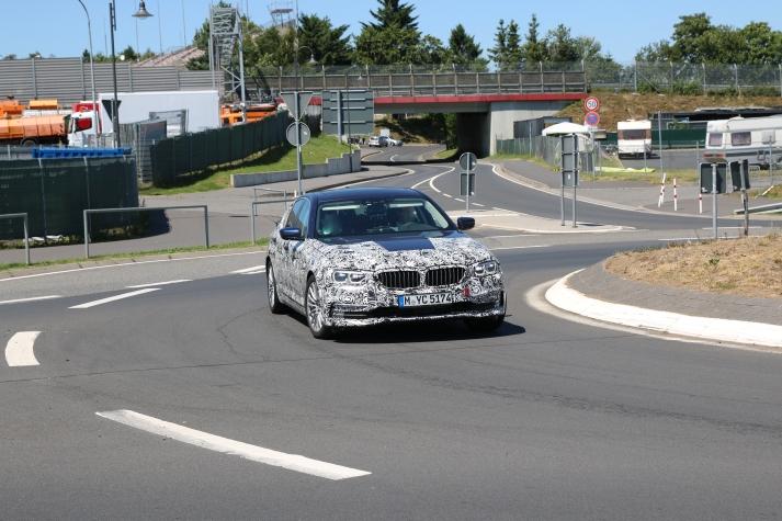 BMW 5er Lim Erlkönig