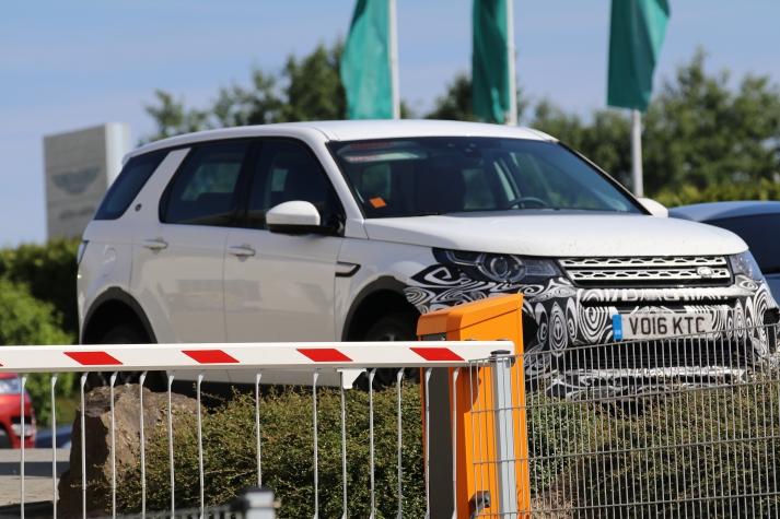 Land Rover Discovery Erlkönig