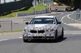 BMW 5er Erlkönig Präsentation um den 20.2.2017