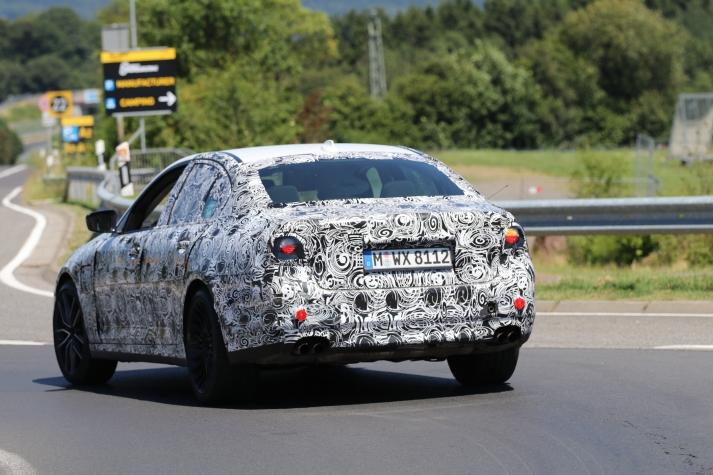 BMW M 5 Erlkönig