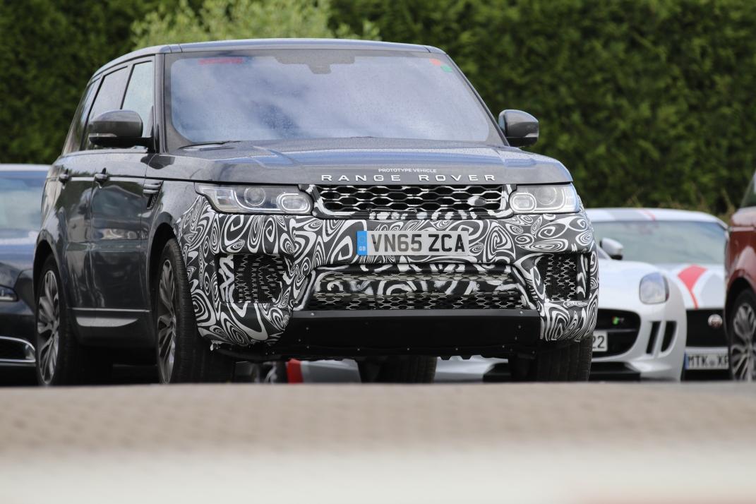 Range Rover Testwagen