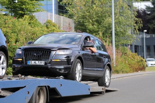 VW Testfahrzeug