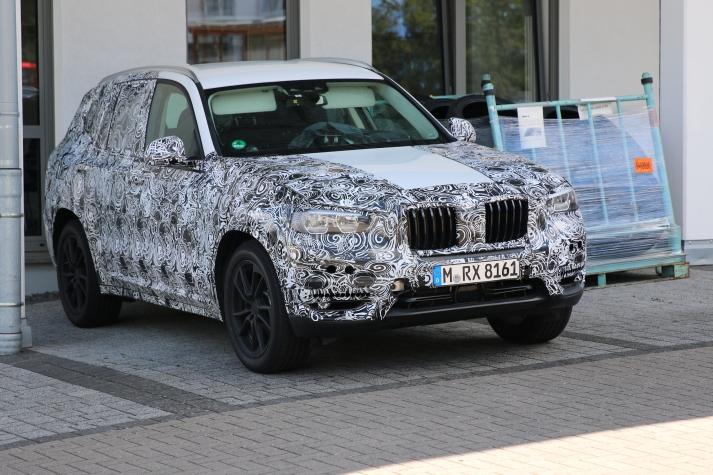 BMW X 3 Erlkönig