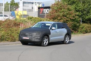 VW Touareg 3. Generation Vorstellung im 2.Quartal 2017