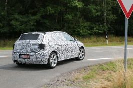 VW Polo Erlkönig