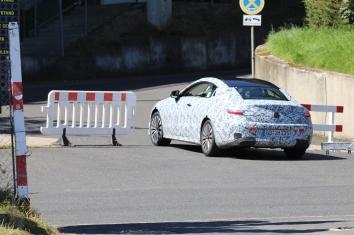 Mercedes E-Klasse Coupe Erlkönig