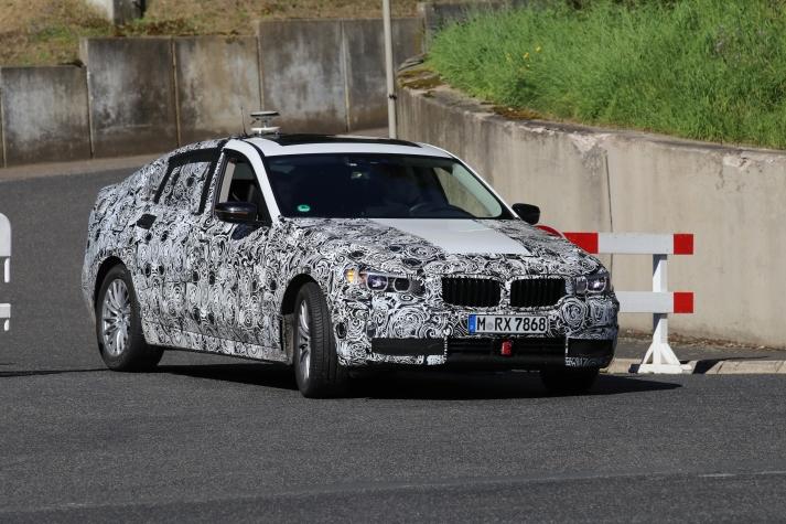 BMW 6er GT Erlkönig