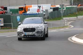 Jaguar F - Pace Erlkönig HP Version