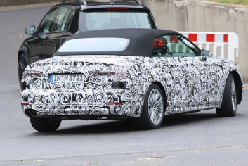 Audi A5 Cabrio Erlkönig