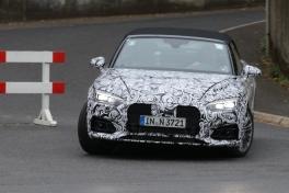 Audi A 5 Cabrio Erlkönig