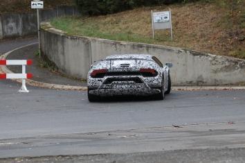 Lamborghini Huracan Erlkönig