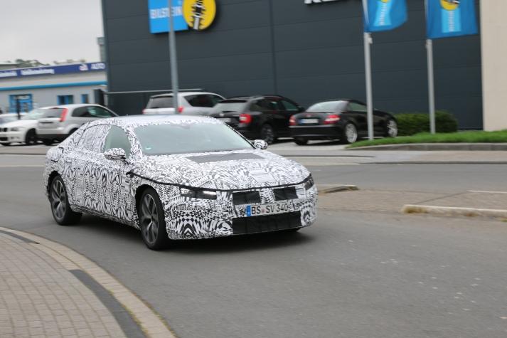 VW CC Erlkönig