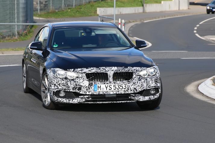 BMW 4er Facelift LCI Erlkönig