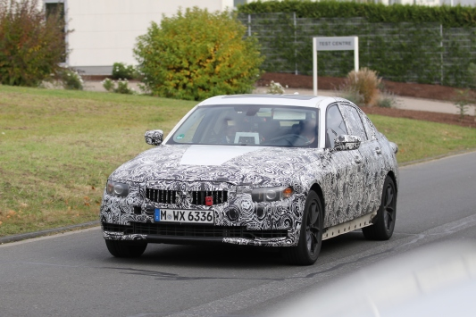 BMW 3er Limousine Erlkönig
