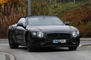 Bentley GT Cabrio Erlkönig