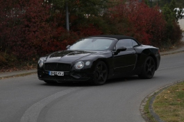 Bentley Continental GTC Erlkönig