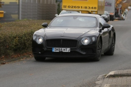 Bentley Continental GT Erlkönig