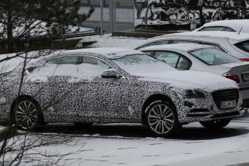 Hyundai Genesis Erlkönig kommt Mitte 2017