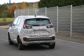 Opel Crossland X Erlkönig Vorstellung in 2017