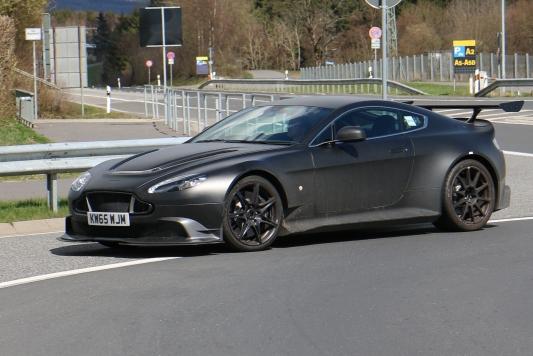 Aston Martin Testfahrzeug