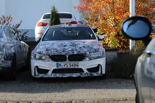 BMW M4 CS Erlkönig