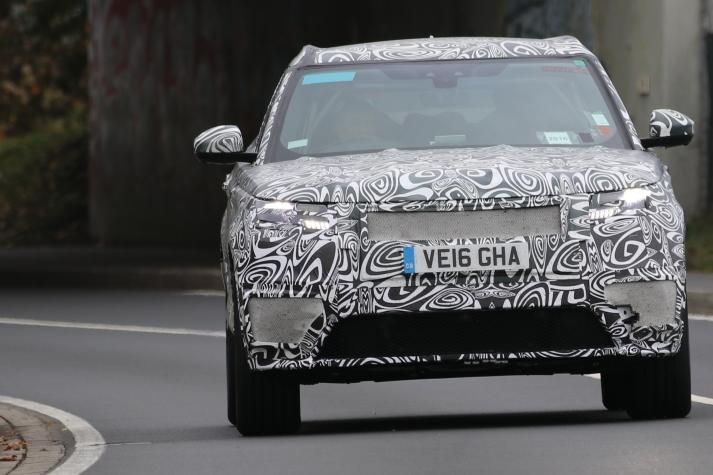 Range Rover Velar Erlkönig