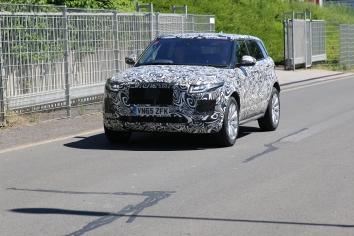 """"""" kleiner"""" Jaguar SUV Erlkönig"""