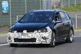 VW Golf R Variant Erlkönig soll in 2017 kommen