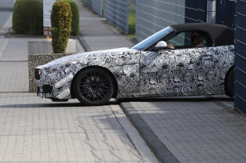 BMW Z 5 bei Aerotests