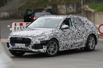 Audi Q 8 Erlkönig