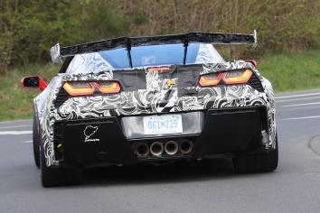 Corvette C7 ZR 1 Erlkönig