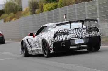 Corvette...auf zum Training für den neuen NS Record