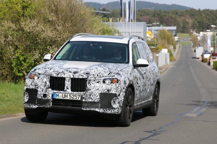 BMW X 7 Erlkönig