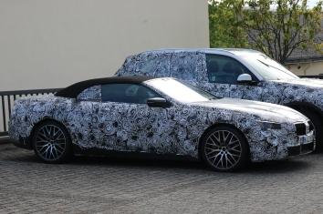 BMW 8er Cabrio Erlkönig