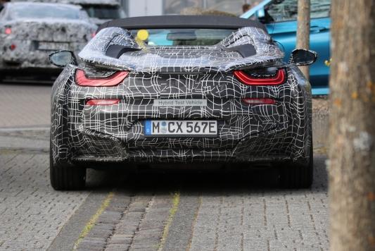 BMW i 8 Cabrio Erlkönig